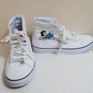 Vans Lucy & Shroeder Peanuts Womens 7